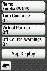 how to turn off warning screen in kia gps