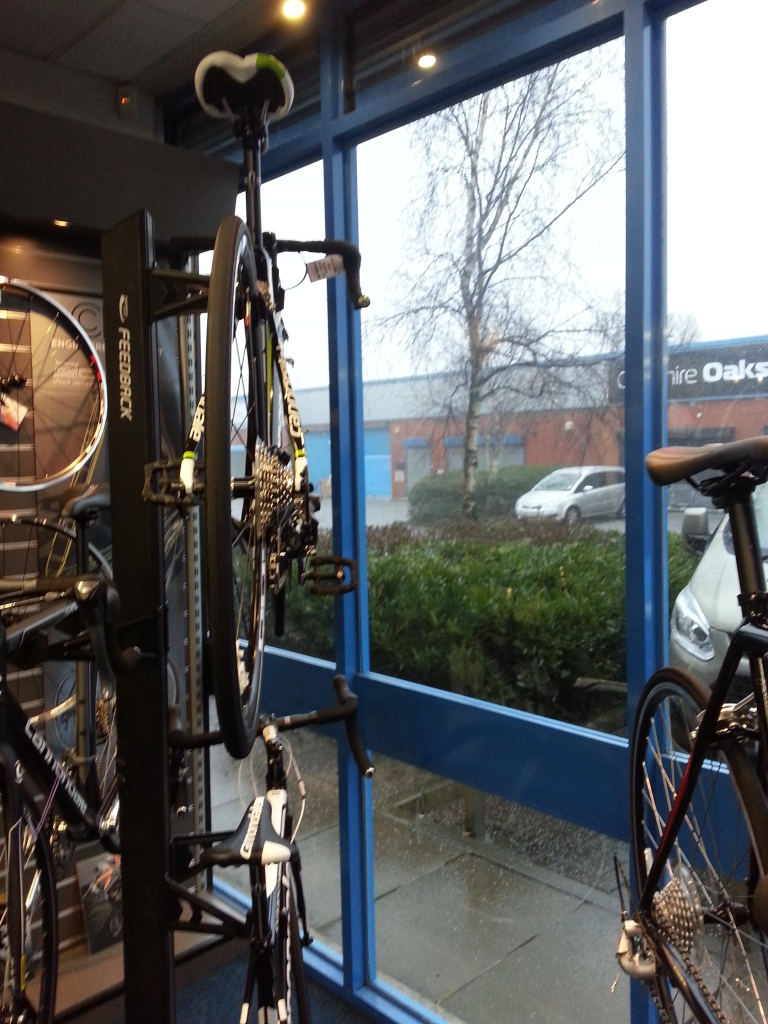 Hail at Cheshire Oaks Cycles